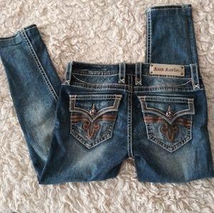 Rock Revival Jeans - Rock Revival Posey Skinny Jean 28